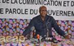 Le Ministre de la communication et des média Ange-Maxime Kazagui s'entretient avec la presse