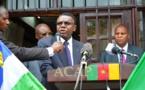 Discours du diplomate camerounais, en présence des autorités centrafricaines