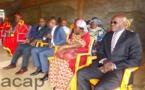 Les membres du gouvernement à l'église Kimbanguiste authentique de Pétévo  le 12 août