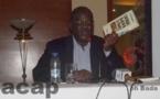 """L'abbé Richard Filakota présente à Bangui son livre intitulé """" L'Union Africaine et la crise en Centrafrique """""""
