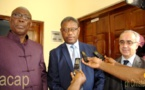 Le ministre Félix Moloua reçoit en audience une délégation du Fonds monétaire international