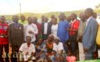 L'Equipe mobile du mouvement cœurs unis en visite à Bégoua