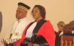 Prestation de serment de deux magistrats à la Cour pénale Spéciale