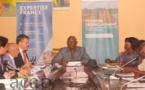 Tenue à Bangui d'une réunion du comité de pilotage du projet de désenclavement des régions en Centrafrique