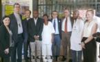 Le Directeur général de la coopération de l'Union Européenne Stéfano Manservisi visite le Complexe Pédiatrique de Bangui