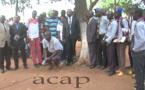 Célébration au Lycée Barthélemy Boganda de Bangui du 10ème anniversaire de planting arbre