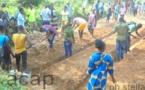 """La FAO présente le projet conjoint """"Jeunes-Ezingo"""" dans le 4ème arrondissement de Bangui"""