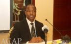 Le chargé de mission au ministère de la Justice et des Droits de l'Homme, Firmin Ngbong-Mokoé