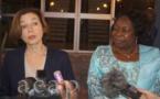 Visite à Bangui de la ministre française des Armées Florence Parly
