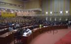 Hémicycle de l'Assemblée nationale lors d'une séance plénière