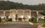 Le palais de la Renaissance, siège de la présidence de la République, à Bangui