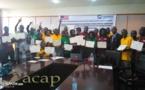 Clôture à Bangui de l'atelier de renforcement des capacités des journalistes et bloggeurs de Centrafrique