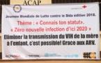 Jour de dépistage volontaire du VIH à l'Institut Pasteur de Bangui