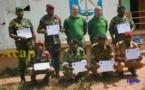 Des éléments de l'armée centrafricaine terminent une formation en logistique