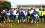 Football : Le personnel de la CEMAC bat Info Sport 3 - 2