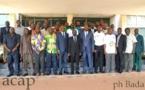 Ouverture à Bangui d'un atelier de renforcement des capacités des dirigeants de ligue de football
