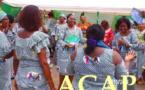 Madame Tina Marguerite Touadéra célèbre la journée du 8 mars en différé avec le personnel féminin des forces de défense et de sécurité