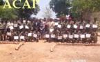Des éléments de l'armée centrafricaine en fin de formation technique en matière de logistique
