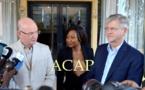 Arrivée Bangui de MM. Chergui de l'Union africaine et Lacroix des Nations Unies dans le cadre de la mise en œuvre de l'Accord de paix