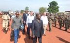 La mission conjointe de l'Union africaine et des Nations-Unies en visite de terrain à Bambari et à Bangassou