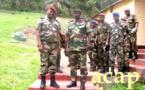 L'état-major des forces armées centrafricaines reçoit la visite du général sénégalais  François Ndiaye