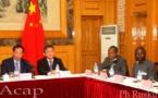 Réunion de travail entre une délégation de la province de Fujian et le groupe d'amitié Centrafrique-Chine