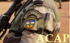 Proclamation des résultats du test d'entrée dans les forces armées centrafricaines