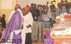 Le Cardinal Dieudonné Nzapalaïnga préside une messe d'action de grâce en mémoire des victimes de la tuerie du 1er mai 2018 à Fatima