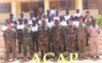 Des éléments de l'armée et de la gendarmerie terminent  leur formation en administration