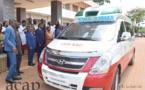 La CEN SAD fait don d'une Ambulance à l'Hôpital de l'Amitié Bangui