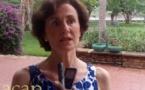 Catherine Geslain-Lanéelle présente à la presse centrafricaine son projet de campagne pour l'élection du directeur général de la FAO