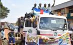 Une caravane pour la paix parcourt Bangui en prélude au 40ème anniversaire des églises apostoliques de Centrafrique
