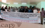 Le consortium des médias privés de Centrafrique s'approprie l'accord politique pour la paix et la réconciliation en République centrafricaine
