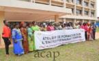 Le gouvernement fait de la femme centrafricaine une priorité transversale de développement