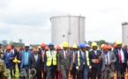 Le président Faustin Archange Touadéra inaugure le 15ème bac de la Société Centrafricaine de Stockage des produits pétroliers