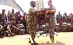 Des effets militaires de la France remis au bataillon amphibie des forces armées centrafricaines