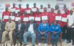 Clôture à Bangui d'une session de formation des arbitres d'élite de football