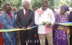 Le ministre Gontran Djono Ahaba inaugure une station-service à Damara