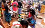 Le maire de Bangui conduit une opération de déguerpissement au marché combattant