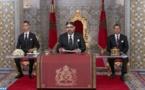 Le Roi du Maroc Mohammed VI adresse un discours à la Nation à l'occasion du 20ème anniversaire de son accession au Trône