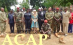 Des officiers des forces armées centrafricaines formés en  logistique par des Américains