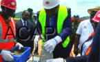 Le président Touadéra lance les travaux de construction d'une base logistique pour l'armée centrafricaine
