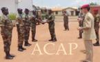 Des éléments de l'armée de l'air centrafricaine formés à la tactique du secourisme et du combat
