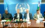 Fin à Bangui de la mission conjointe Union Africaine, Union Européenne et Nations Unies