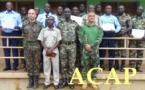 Des officiers des forces armées centrafricaines et de la gendarmerie formés à la gestion de projet