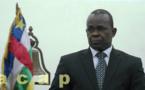 Le ministre Jean-Christophe Nguiza réceptionne l'avant-projet de loi sur le VIH/Sida