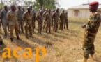 Une soixantaine d'éléments des FACA à l'école des gradés au camp Kassaï