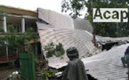 La toiture du ministère des Eaux et forêts enlevée