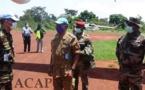 Visite de travail du général Zéphirin Mamadou à Obo.