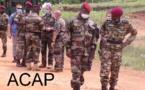 Le général de division Zéphirin Mamadou rend visite la troupe à Ndéle